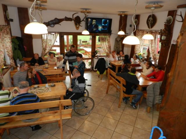 Obiad w Miłkowie