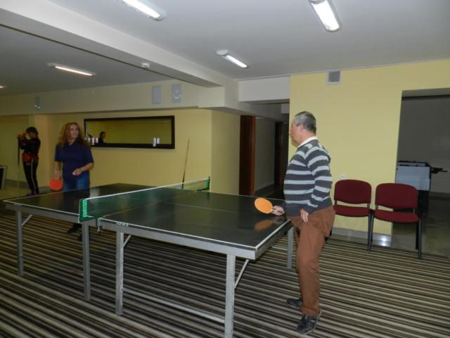 Ania i Daniel - mistrzowie ping ponga